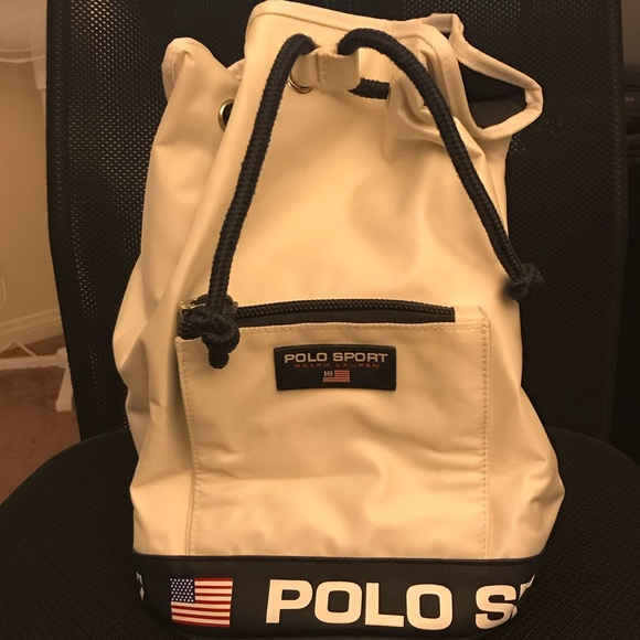 Vintage POLO SPORT Ralph Lauren Shoulder Bag 🇺🇸.  M 5b64e2da42aa7640ca7e0e7a 9ede765b61d41
